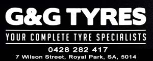 G&G Tyres advertisement