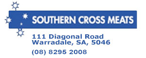 Southern Cross Meats advertisement